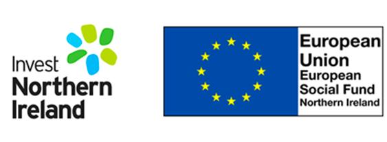Invest NI and European Fund Logos