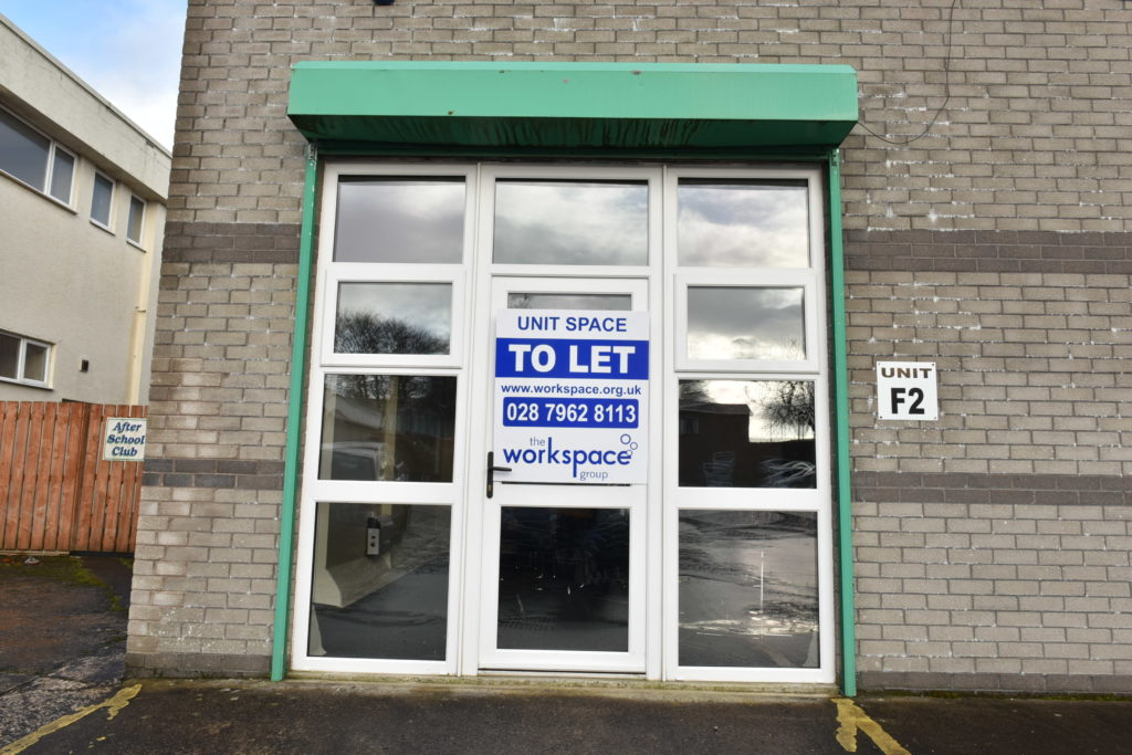 Magherafelt Business Unit to rent F2 at Workspace Group
